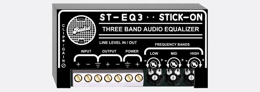 RDL ST-EQ3 SIGNAL PROCESSOR 3-band EQ, line level