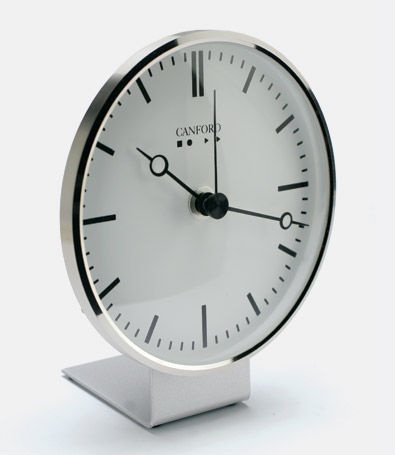 Canford Radio Controlled Desk Clock Msf