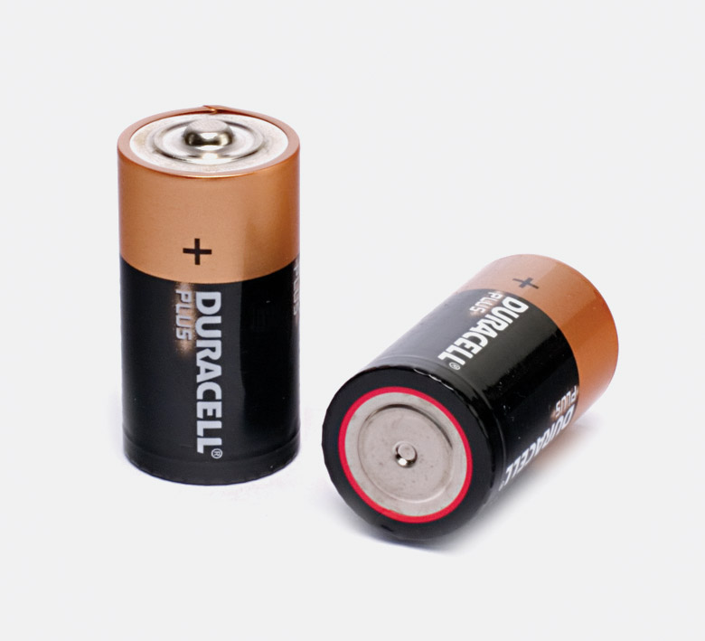 DURACELL MN1400 BATTERY, C size, alkaline, 1.5V (pack of 2)