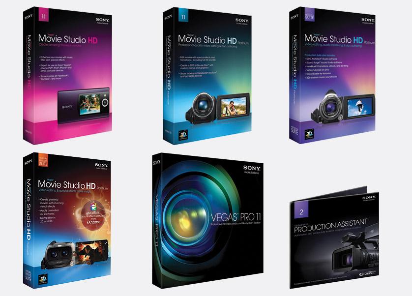 Movie studio hd platinum 11 visual effects suite software video edit