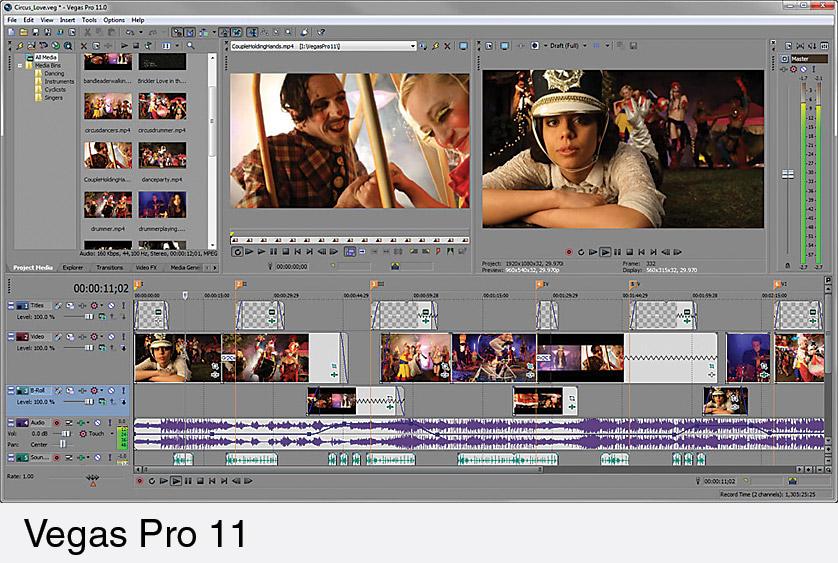 latest sony vegas video editor