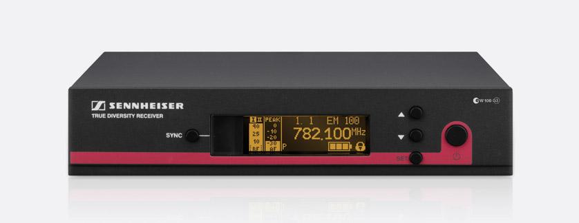 SENNHEISER 504661 EM 100 G3 GB RADIOMIC RECEIVER Fixed, 606