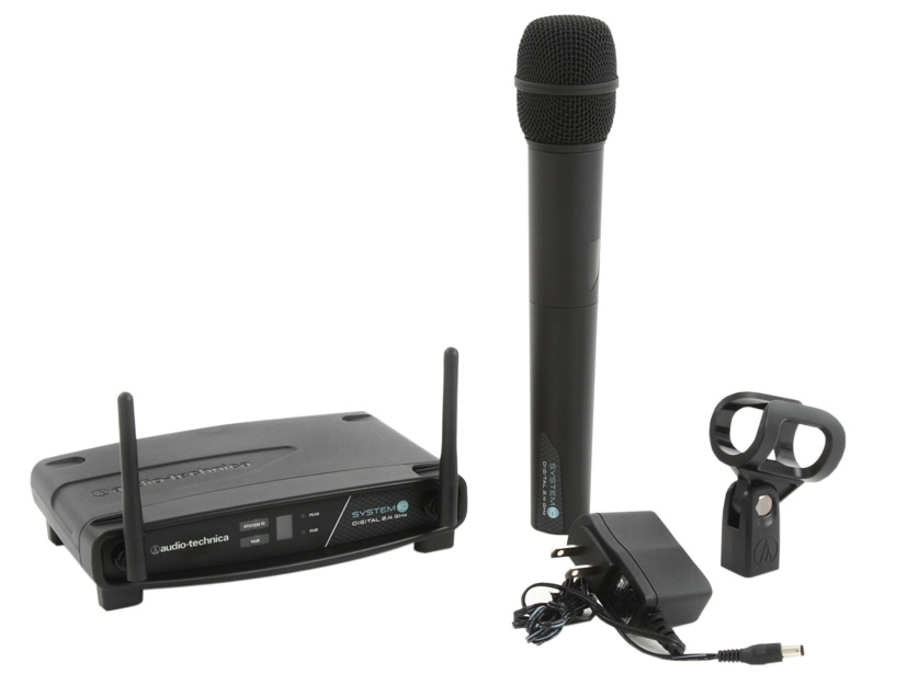 audio technica system 10 atw 1102 radiomic system handheld fixed rx unidirectional 2 4 ghz. Black Bedroom Furniture Sets. Home Design Ideas