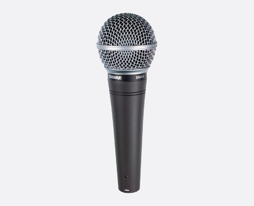 shure sm48s microphone vocal dynamic cardioid with switch. Black Bedroom Furniture Sets. Home Design Ideas