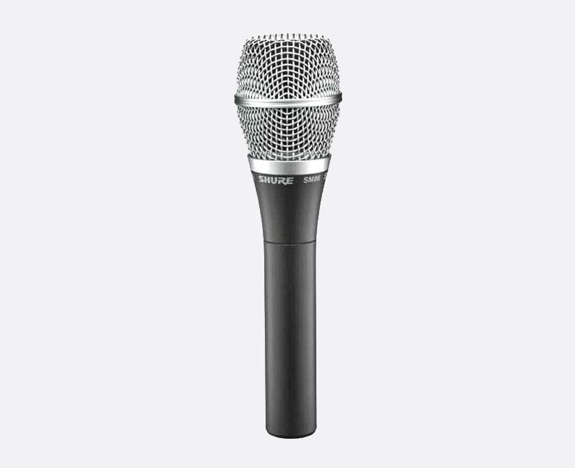 SHURE SM86-LC MICROPHONE Vocal condenser, cardioid
