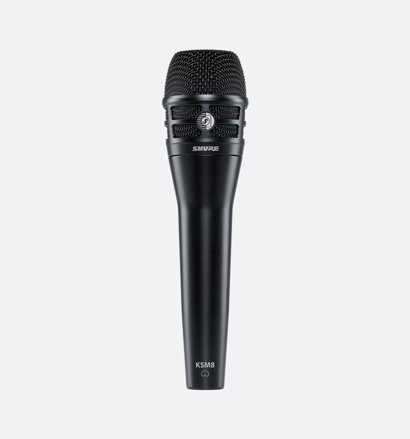 SHURE KSM8/B MICROPHONE, Handheld vocal dynamic, dual diaphragm ...
