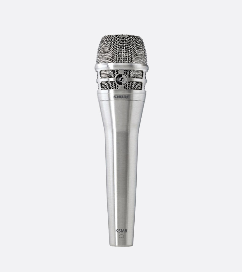 SHURE KSM8/N MICROPHONE, Handheld vocal dynamic, dual diaphragm ...