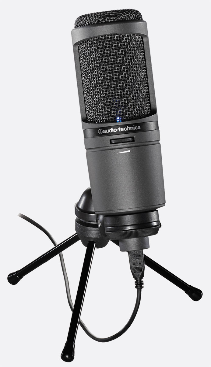 audio technica at2020usbi microphone cardioid condenser microhdmi output usb lightning bus powered. Black Bedroom Furniture Sets. Home Design Ideas