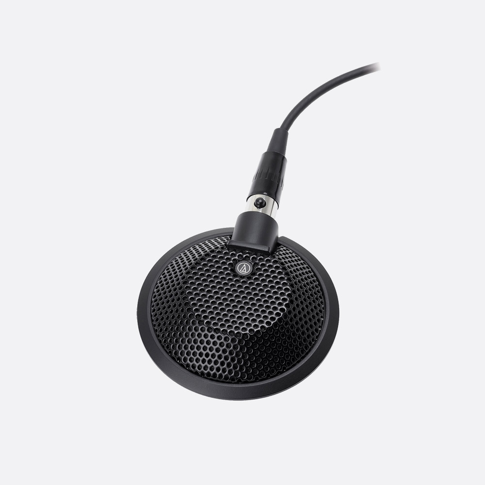Audio Technica U841r Microphone Boundary Omni Condenser Phantom Only The Circuit Is Powered And Very Sensitive It Uses Off