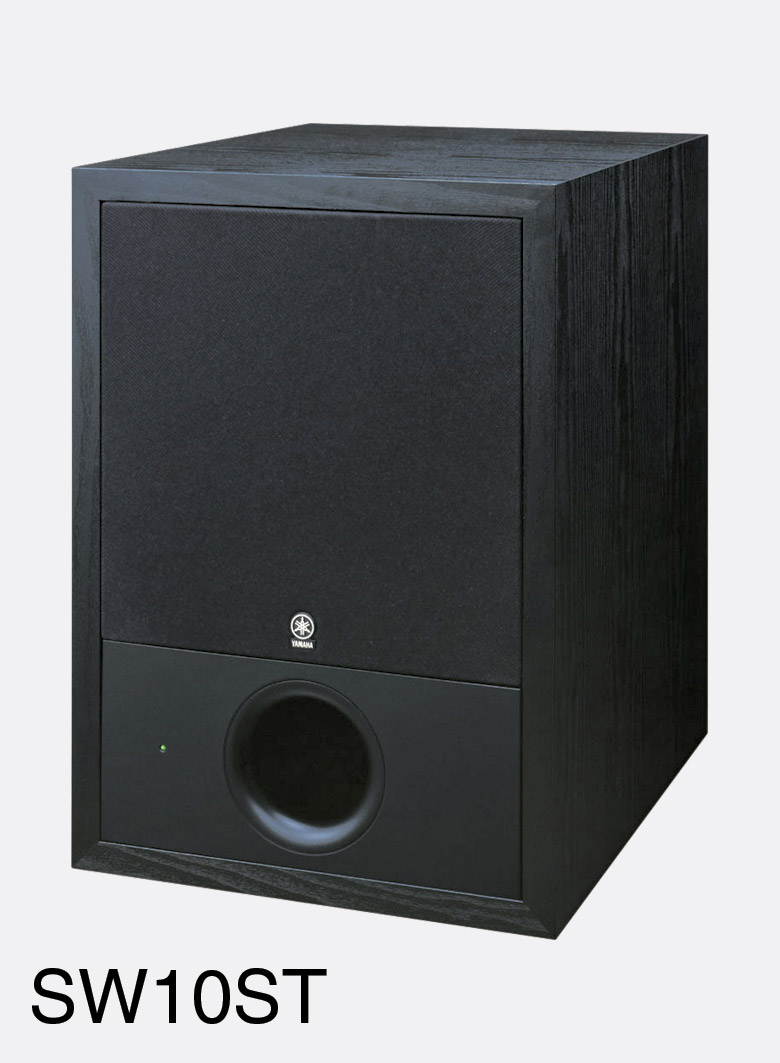 yamaha sw10 studio loudspeaker active sub bass 180w studio sold singly. Black Bedroom Furniture Sets. Home Design Ideas