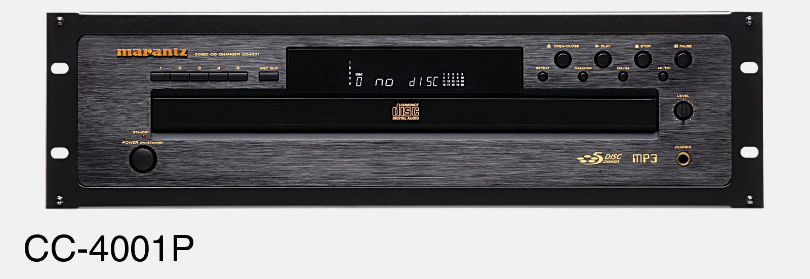 marantz cc 4001 pro cd player 3u 5 disc cd r rw mp3 s p dif rh canford co uk
