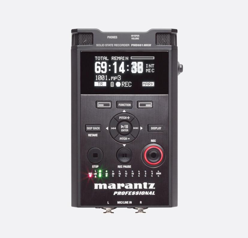 marantz pmd661 mkiii portable recorder for sd card mp3 wav 2x rh canford co uk Marantz Digital Recorder Marantz 661 Manual