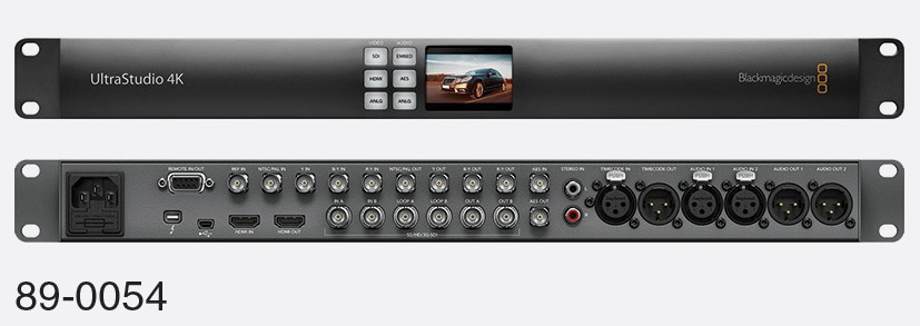 Blackmagic Bdlkulsr4k2 Ultrastudio 4k 2 Video Interface 3g Sdi 10 Bit Hdmi Analogue Thunderbolt