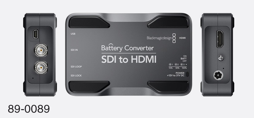 Blackmagic Design Mini Converters Video And Audio Canford