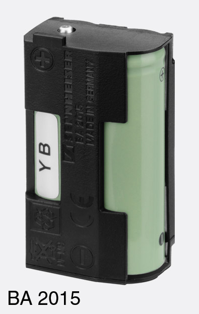 SENNHEISER 009950 BA 2015 BATTERY Rechargeable, NiMH, for G3 bodypack  transmitter or receiver