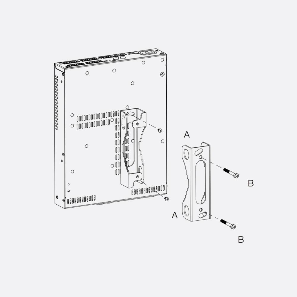 lab gruppen lucia pole mount kit