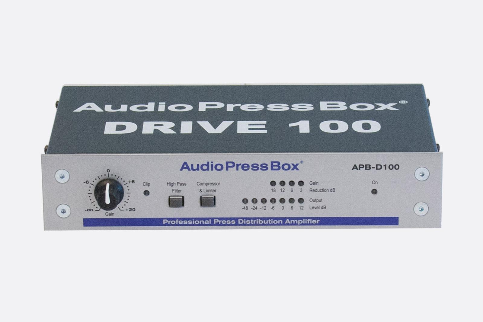 AUDIOPRESSBOX APB-D100 PRESS SPLITTER DRIVE UNIT Active, portable ...