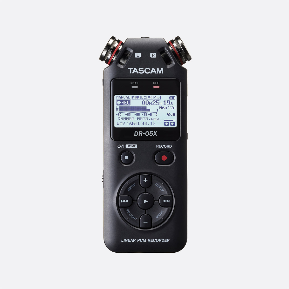 Tascam DR-44WL Portable Handheld Digital Recorder With Wi-Fi /& 4GB MicroSD Card