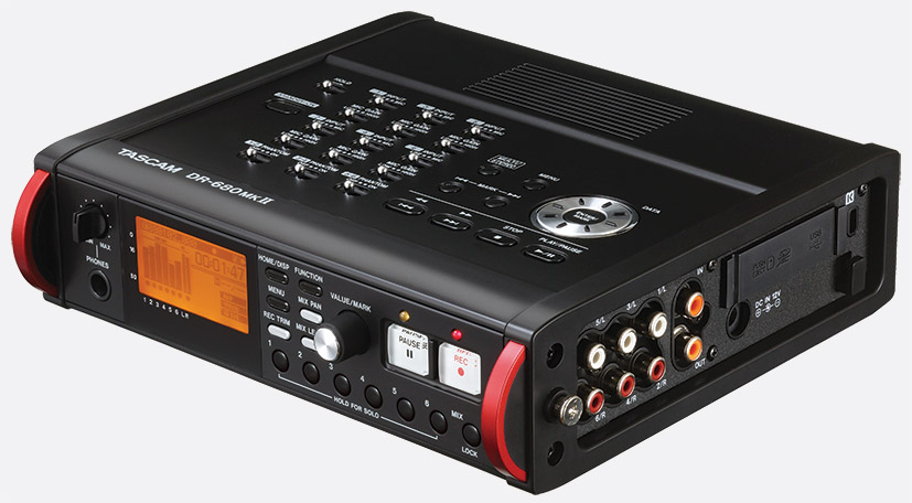 tascam dr 680 mkii portable recorder for sd sdhc card 8 channel rh canford co uk Tascam DR- 60D Review Tascam Dr 0.3 Manual