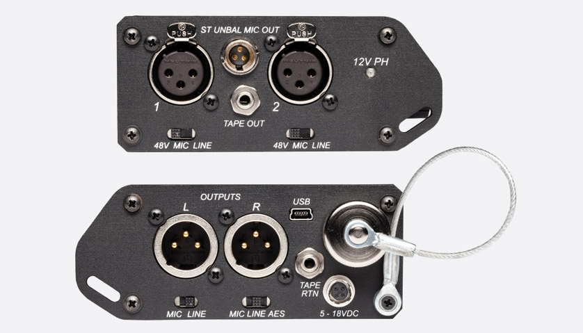 Sound Devices Mixpre D Microphone Preamplifier Mixer