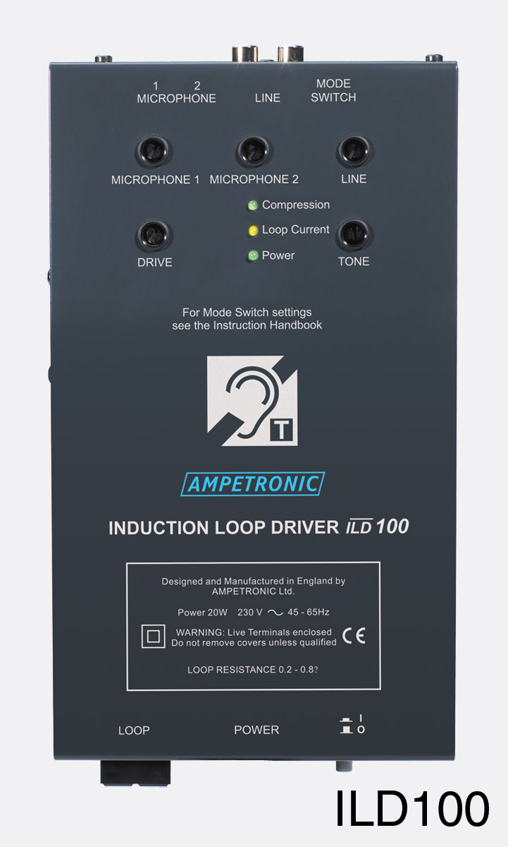 Ampetronic Ild100 Tx Loop Driver Ecm Mic Preamplifier By Bc549