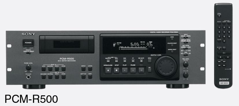 Sony PCM R500