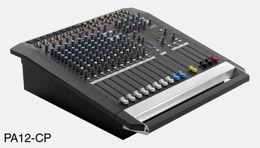 Allen Amp Heath Pa12 Cp Mixer Amplifier 8x Mono 2x Stereo