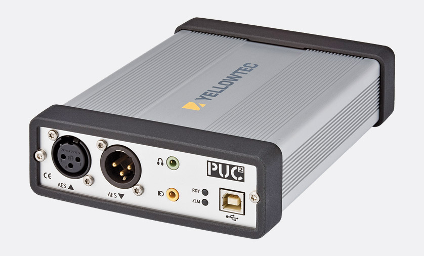 yellowtec puc2 usb audio interface analogue line and aes ebu