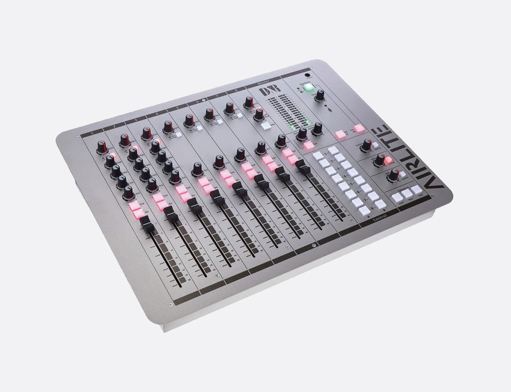D&R AIRLITE-USB BROADCAST MIXER 3x XLR mic in, 8x RCA stereo in, 4x USB  I/O, 1x VOIP channel