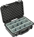 SKB 3I-1610-5DT iSERIES UTILITY CASE Waterproof, internal dim. 406x140x254mm, Think Tank dividers