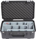 SKB 3I-2011-8DT iSERIES UTILITY CASE Waterproof, internal dim.521x292x203mm, Think Tank dividers
