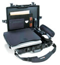 PELI 1495CC1 LAPTOP CASE With pouch and lid organiser, internal dimensions 479x333x97mm, black