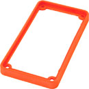 TECPRO Spare bezel for BP1 series beltpack, orange