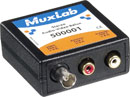 MUXLAB 500001 Video and stereo audio balun