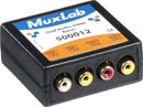 MUXLAB 500012 Dual audio and video balun