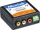 MUXLAB 500049 Stereo audio video and IR pass-through balun