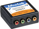 MUXLAB 500051 Component video and digital audio balun
