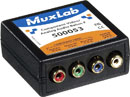 MUXLAB 500053 Component video and stereo audio balun