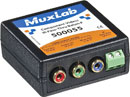 MUXLAB 500055 Component video and IR pass-through balun