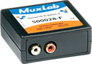 MUXLAB 500028-F BALUN Analogue audio x2, hi-fi, 2x female RCA (phono)