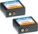 MUXLAB 500028-F-2PK BALUN Analogue audio x2, hi-fi, 2x female RCA (phono), pack of 2