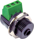 BTX MINIATURE JACK CONNECTORS - Cable and panel types - Screw terminal