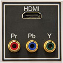 IKON CONNECTION MODULE EP-HDMI+CV HDMI plus three RCA(phono)