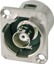 SWITCHCRAFT EHBNCRCA BNC female - RCA female feedthrough, nickel