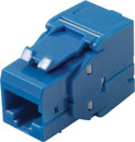 TUK KEYSTONE RJ45 IDC SOCKET Cat6 tool-less, blue