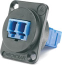 SWITCHCRAFT EHLC2 Fibre optic LC singlemode feedthrough coupler