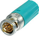 NEUTRIK BST-BLC-CY BNC REAR TWIST CABLE BOOT Large, turquoise
