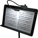 LITTLITE MS-12-A-LED MUSIC STAND GOOSENECK LAMP 12 inch, LED array, black