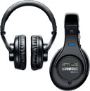 CANFORD LEVEL LIMITED HEADPHONES SRH440 88dB, wired stereo, 3.5mm jack & 6.35mm adapter