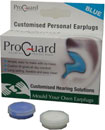 PROGUARD MOULD-YOUR-OWN EARPLUGS Blue